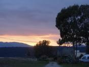 Sunset at Gytheo