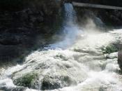 Hot springs on Evia island