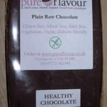 Pure Flavour – New Raw Chocolate Bars
