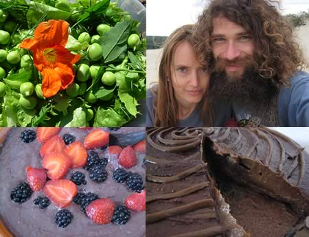 Raw Food and Wild Food Workshop with Rob and Jolita