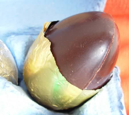 Raw Easter Egg