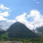 Chamonix-Mont-Blanc in the Alps