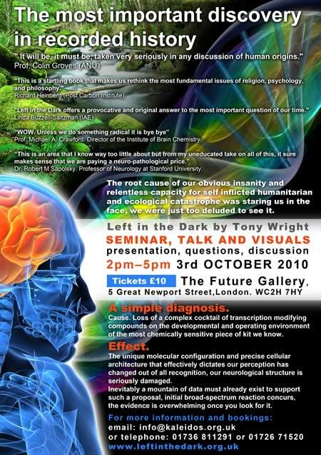 Tony Wright seminar London
