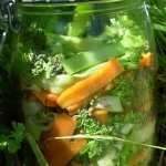Fermented Broccoli and Carrot with Leek