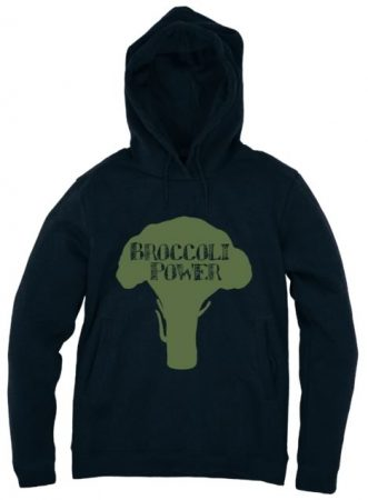 Broccoli power hoodie