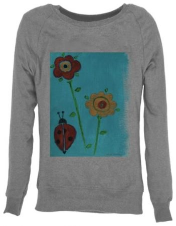Womens ethical organic jumper