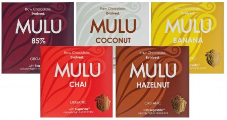 New Mulu chocolate bars