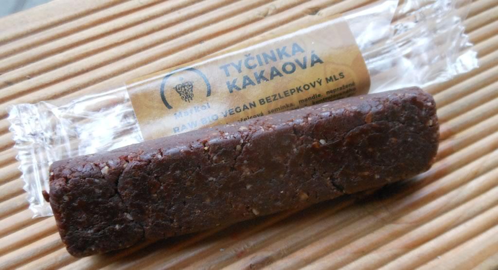 Tyčinka kakaová - raw snack bar