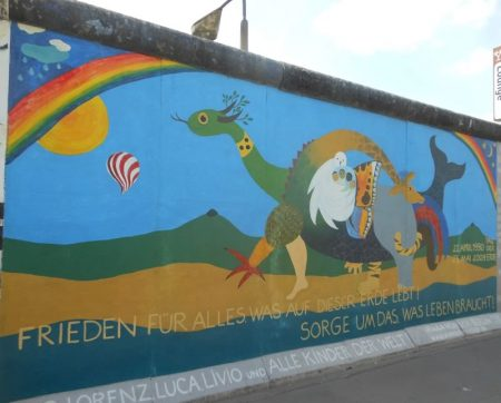 Berlin wall - Peace for all that lives on this earth