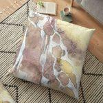 Floor Cushion with abstract art