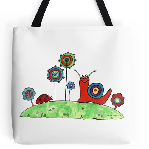 Summer Joy Tote Bag