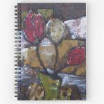 Tulips in Vase notebook