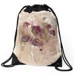 Vibrations Drawstring Bag
