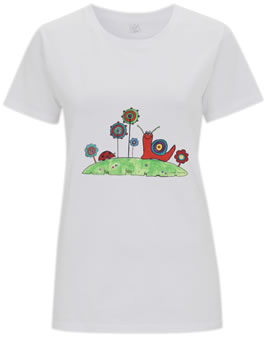 Organic Low Carbon Woman's T-Shirt
