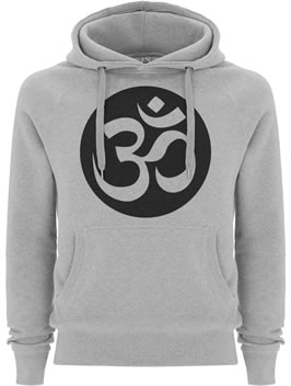 Fairtrade Organic Hoodie with Om Symbol